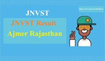 JNVST 6th Result 2020 Jaipur Region