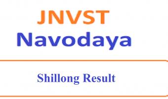 JNVST 6th Class Result 2020 Pune, Shillong