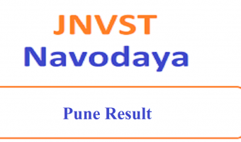 JNVST Result 2020 Pune